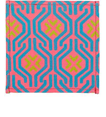 LIFE by Muriel Brandolini Geometric-Print Cocktail Napkin -  - Barneys.com