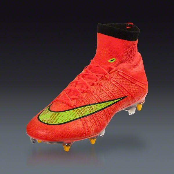 fa0e50820e9 Nike Mercurial Superfly SG-Pro - (Hyper Punch Gold -Black) Soft Ground  Soccer Shoes