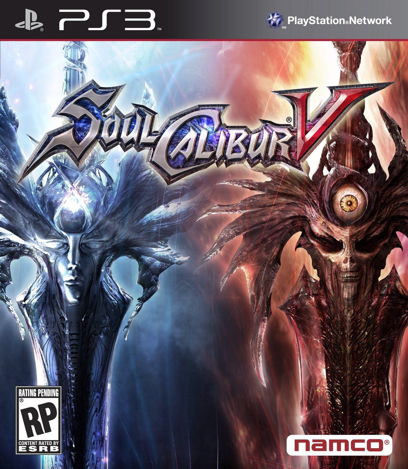Games Movies Music Anime Soul Calibur 5 Ps3 Box Art Soul