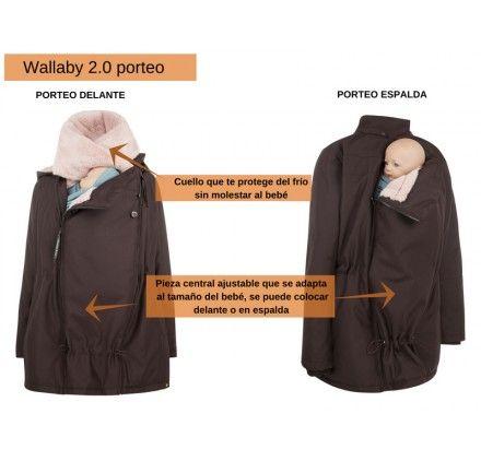 Abrigos de embarazo y porteo