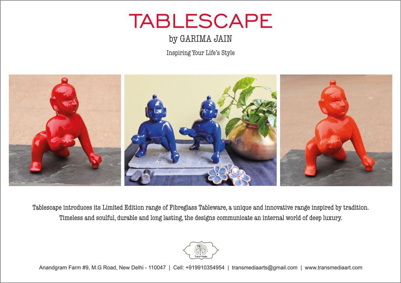 Tablescape by Garima Jain decorative sculptures