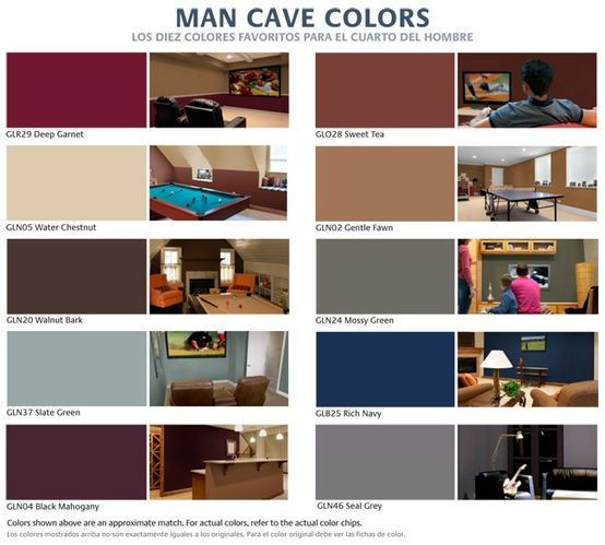 man cave paint colors - Transformation Of Conventional Man Caves Into  Awesome Man Caves  Garden Design