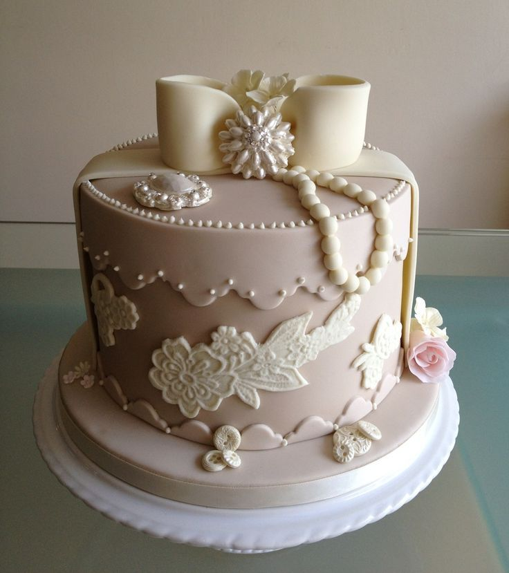 Image result for cake in the shape of a hat box Moms Birthday