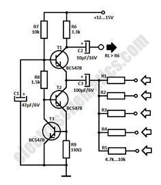 Fantastic Simple Audio Mixer Circuit Schematic Electronics Pinterest Wiring Cloud Mangdienstapotheekhoekschewaardnl