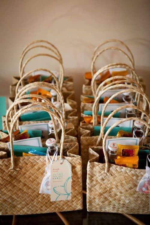 90 Top Wedding Guest Gift Ideas Wedding Weddingguestgiftideas Hawaii Destination Wedding Welcome Bags Wedding Gift Bags