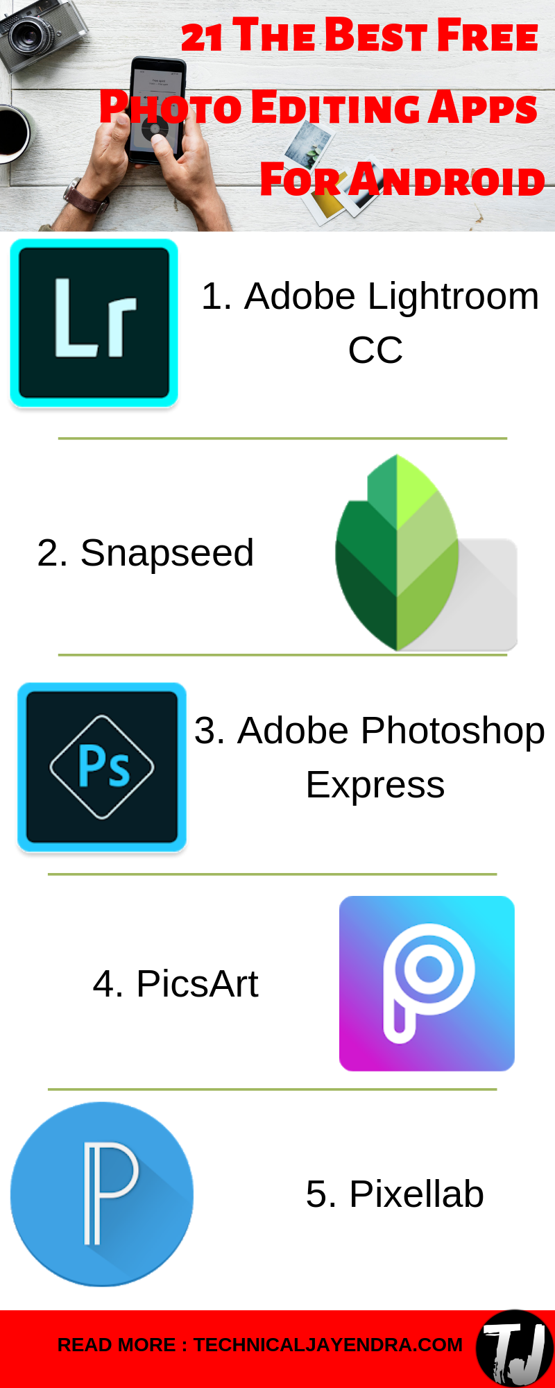 19 Best Photo Editing Apps For Android (2020) Photo