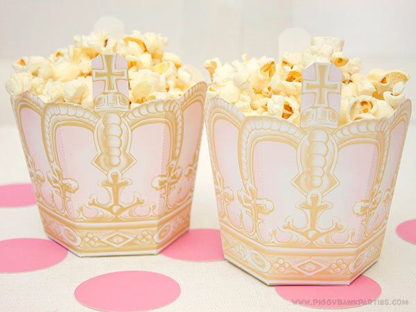 ROYAL CROWN Treat Box : DIY Printable Princess Tiara Favor Box - Instant Download by PiggyBankParties on Etsy https://www.etsy.com/listing/158594013/royal-crown-treat-box-diy-printable