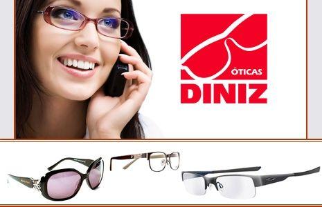 3e63e0e4540b9 Óticas Diniz   Meus Sites   Pinterest   Ótica, Óculos e Óculos de grau