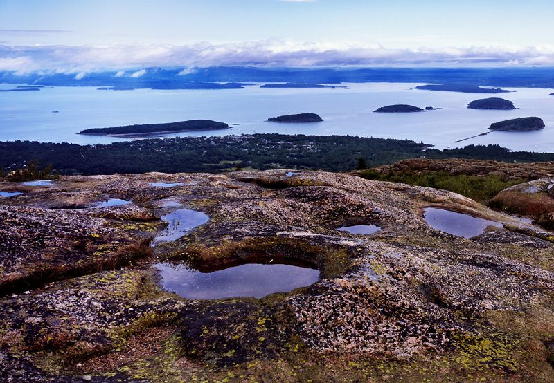 Cadillac Mountain, Acadia National Park - On a clear day you can see