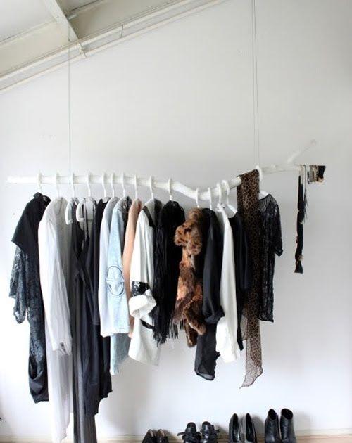 ♥frei schnauze DIY Garderobe oder Ankleide oder Kleiderstange o - diy garderobe
