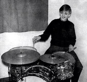 A Young Roger Taylor Before Queen Drums Drummers Roger