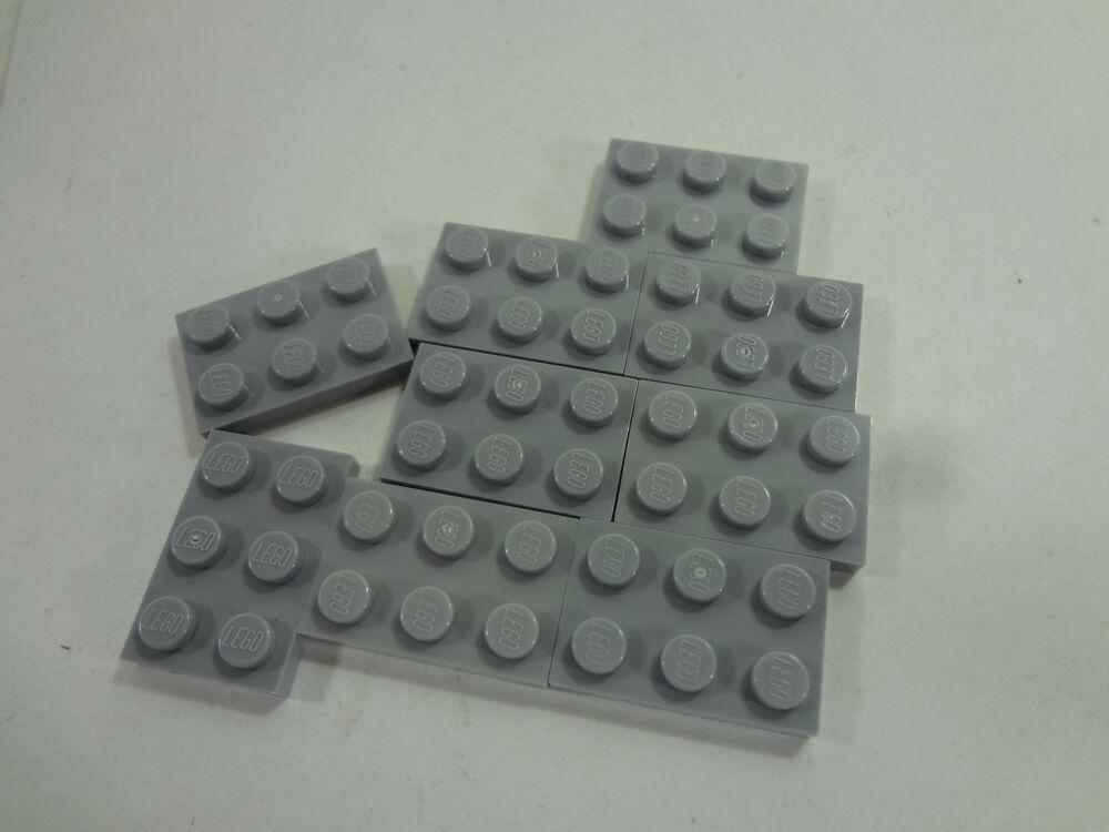 LOT OF 100 BLUE BRAND NEW FREE SHIPPING! LEGO 2X3 BRICKS
