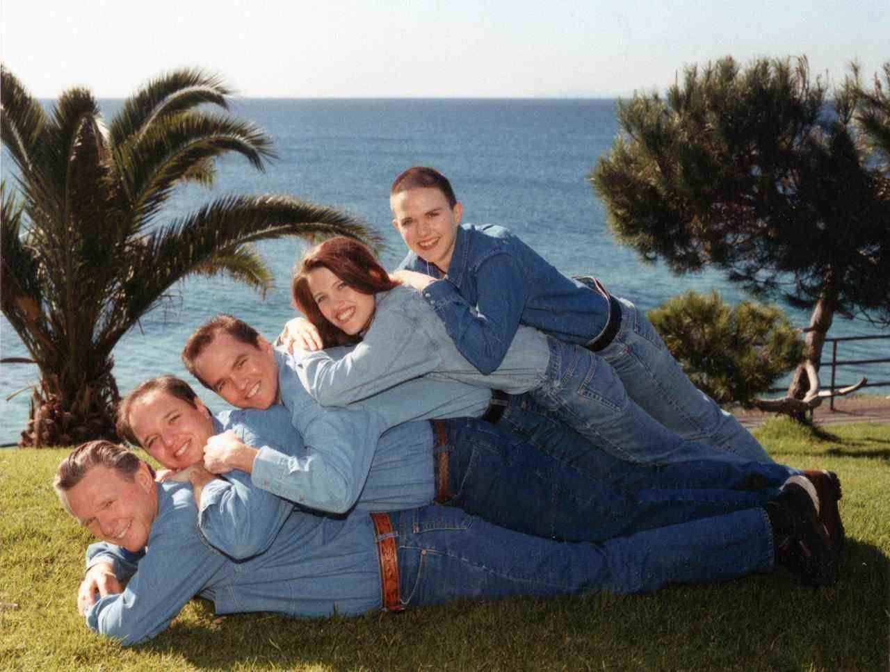 Inappropriate family pictures