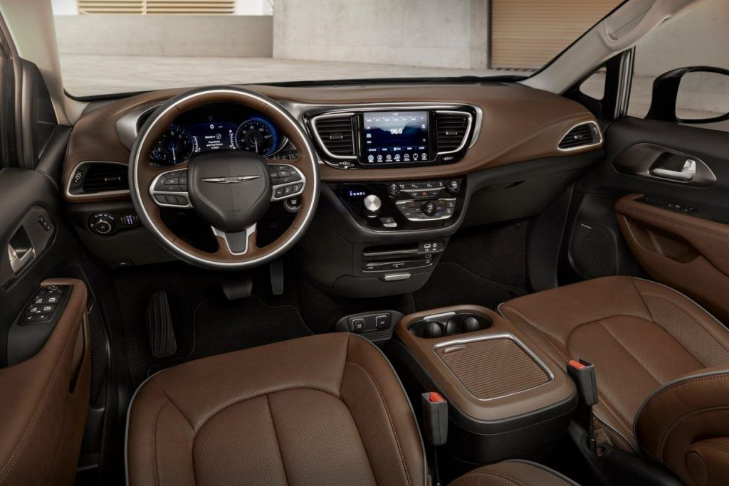 2019 Chrysler Pacifica Interior Car Review 2019 With Images