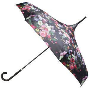 Ted Baker Varka Oil Blossom Parasol Umbrella - Black