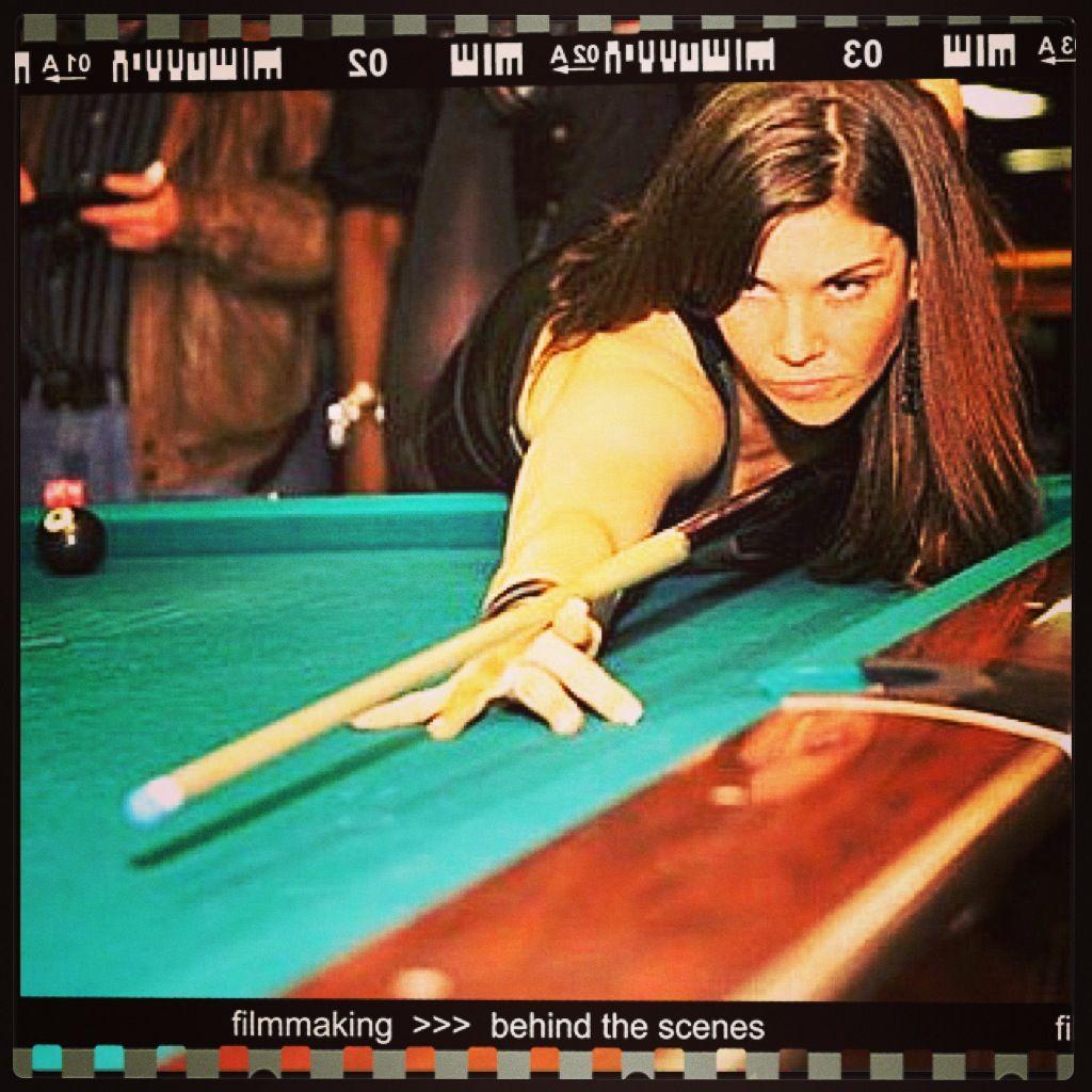 Ready, set, action. billiards emilyduddy film pool