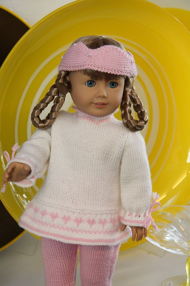 Knitted doll clothes | knit doll clothes | Knitting | Pinterest ...