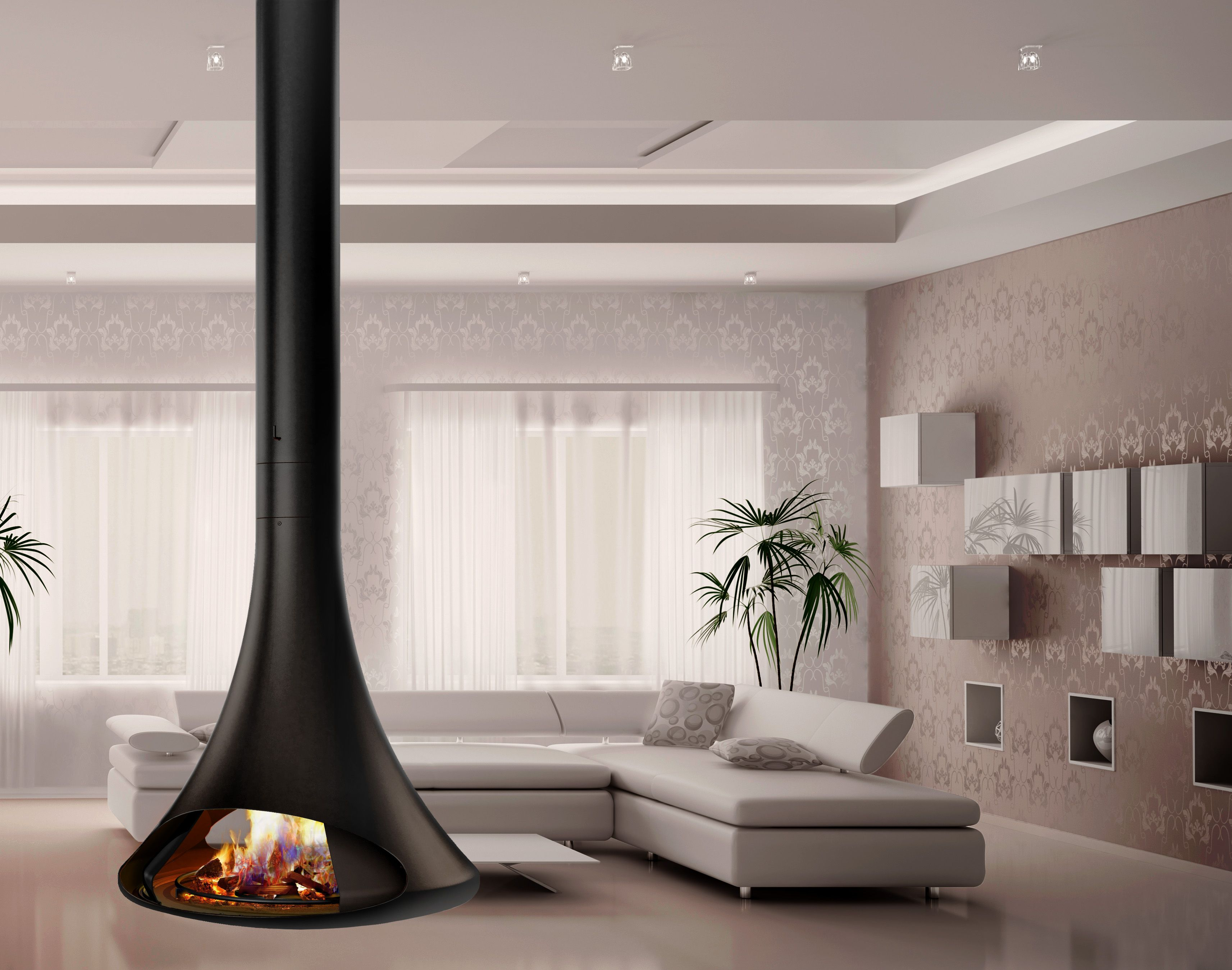 brand new is the doria fireplace available in wood burning as