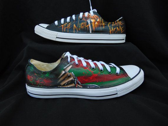Horror Lovers Converse with Jason Pennywise by EclecticGoodsVa