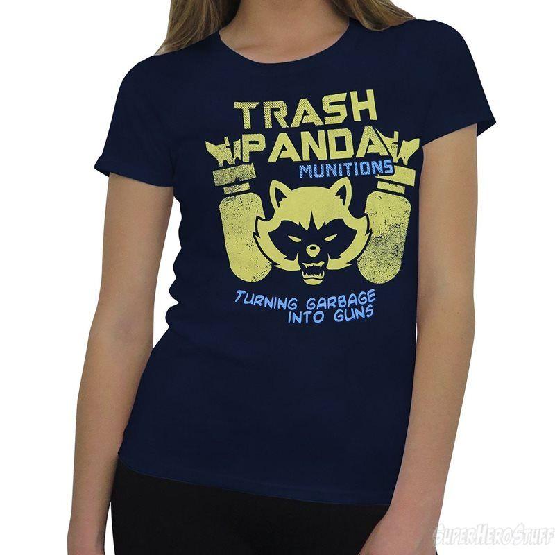 Trash Panda Munitions Men/'s T-Shirt Blue