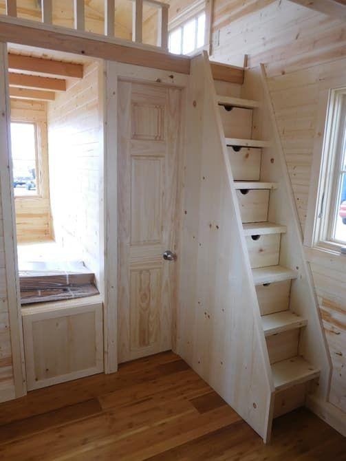 Tiny Functional Homes smallest house #tinyhousebathroom