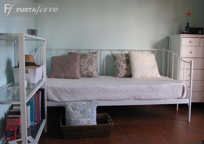 Cama divan de forja modelo mallorca ibiza www for Camas divan juveniles