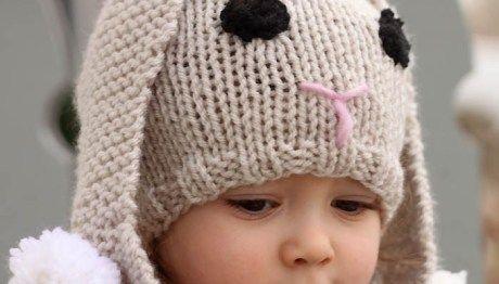 Toddler Girl's Cat Ear Hat knitting pattern | Baby hat ...
