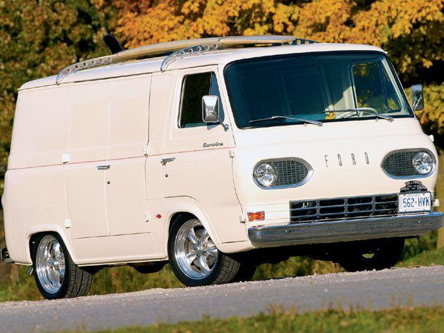 67 Ford Econoline Custom Vans Vintage Vans Ford Van