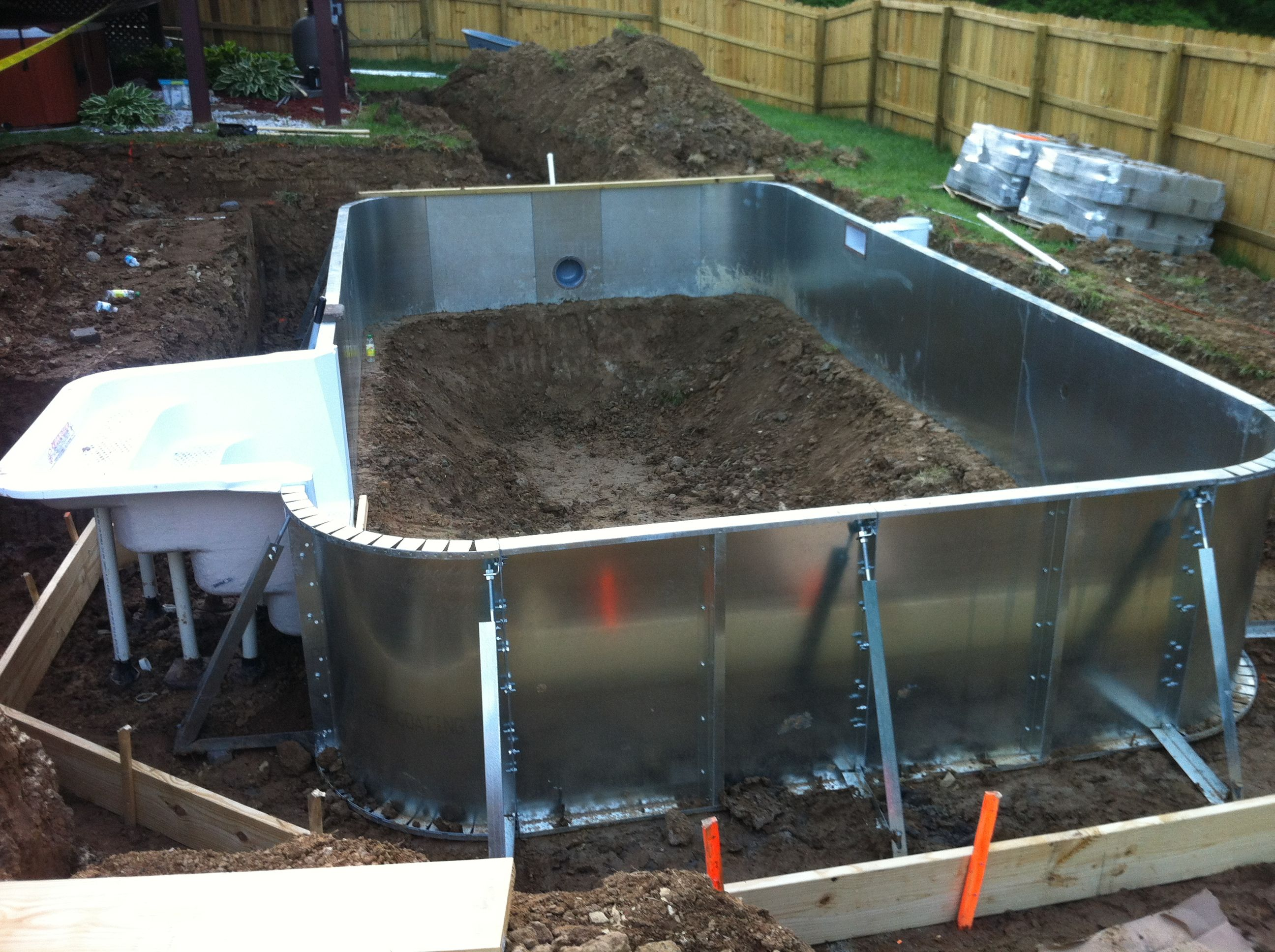 Steel Wall Inground Pool Kits Are Build To Last!