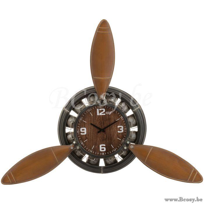 J-Line Clock vliegtuigschroef ijzer bruin-zwart 134 Jline-by-Jolipa-2728 horloges -...,  #bruinzwart #Clock #Horloges #Ijzer #JLine #JlinebyJolipa2728 #tapijtindustrieel #vliegtuigschroef, J-Line Klok Vliegtuigschroef IJzer Bruin-Zwart 134 Jline-by-Jolipa-2728 Klokken-Wandklokken-Wandklokken-Klokken-Murales-Wandklokken-Wandklokken - Klokken - BCosy.be Lifestyle webshop boetiek web vente en...