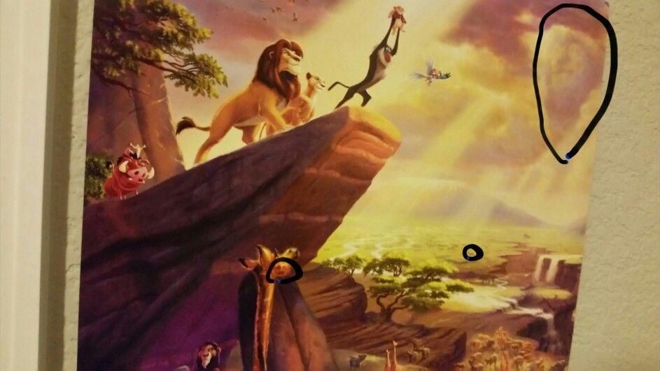 Hidden Pictures In Thomas Kinkade Disney Paintings ...