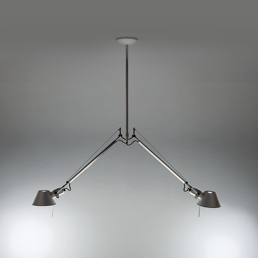 Artemide Tolomeo Suspension Lighting Lamp Artemide Pendant Light