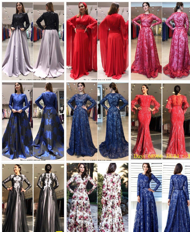 Islamic Evening Dresses Turkey Evening Dresses With Sleeves Evening Dresses Long Sleeve Dress Formal