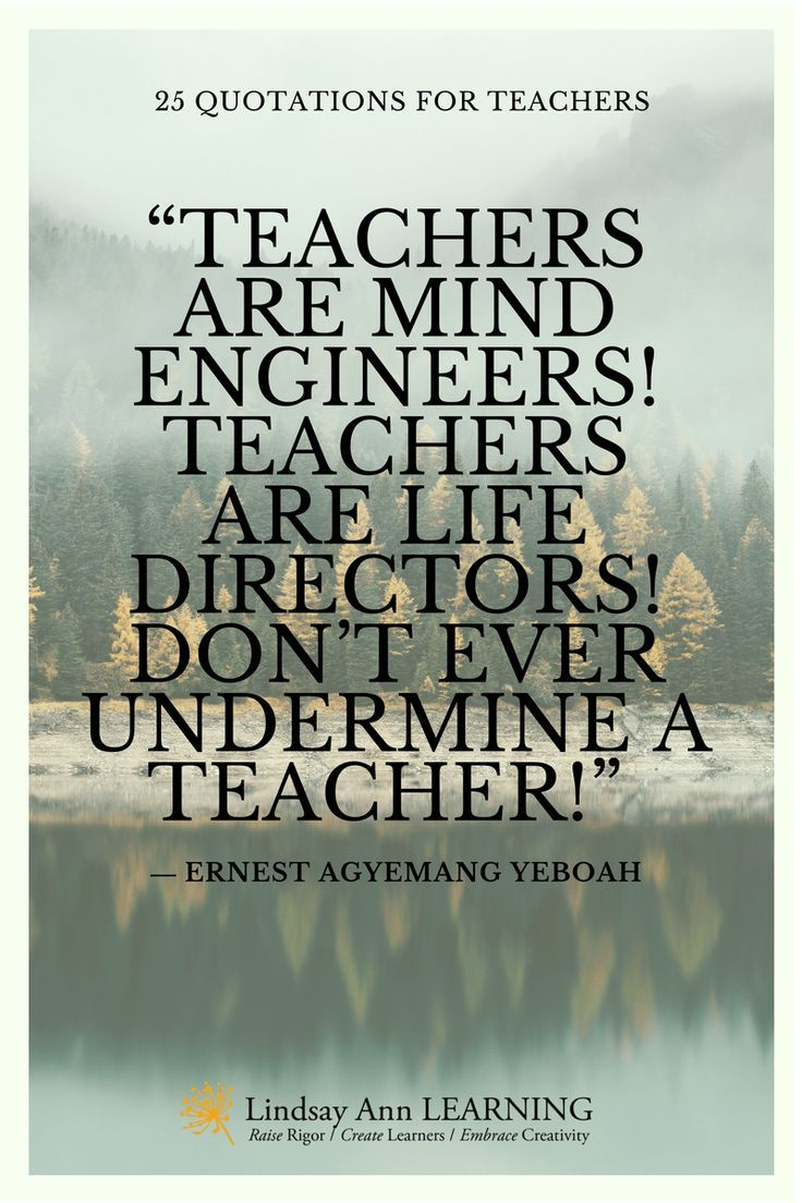 25 Best Quotes About Teaching | Lindsay Ann Learning ...