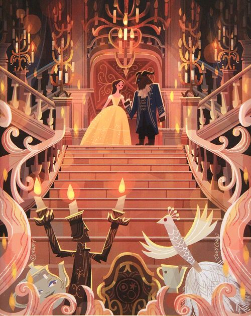 Be Our Guest By Joey Chou C 2017 With Images Beauty And The