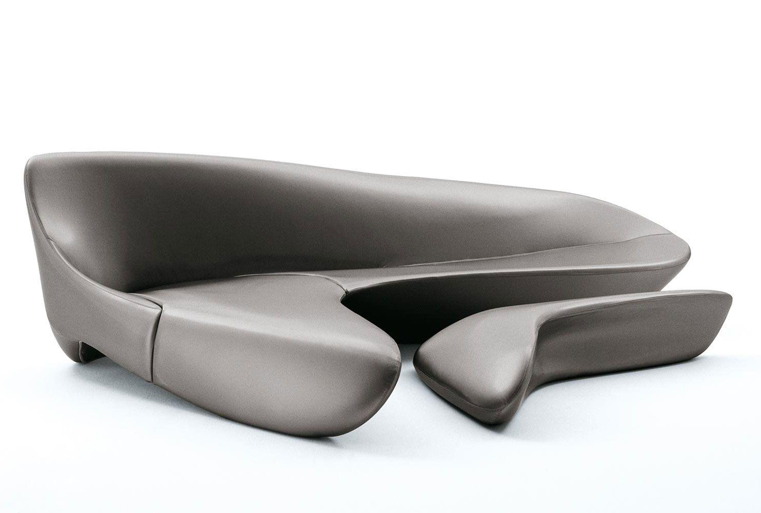 Sofa Moon System Collection B B Italia Design Zaha Hadid  # Muebles De Zaha Hadid