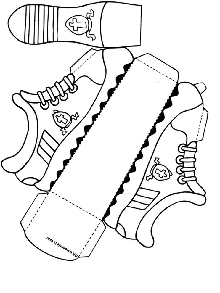 Bouwplaat schoen thema sinterklaas schoenen pinterest sinterklaas schoenen en knutselen - Hoe om kleuren te maken ...