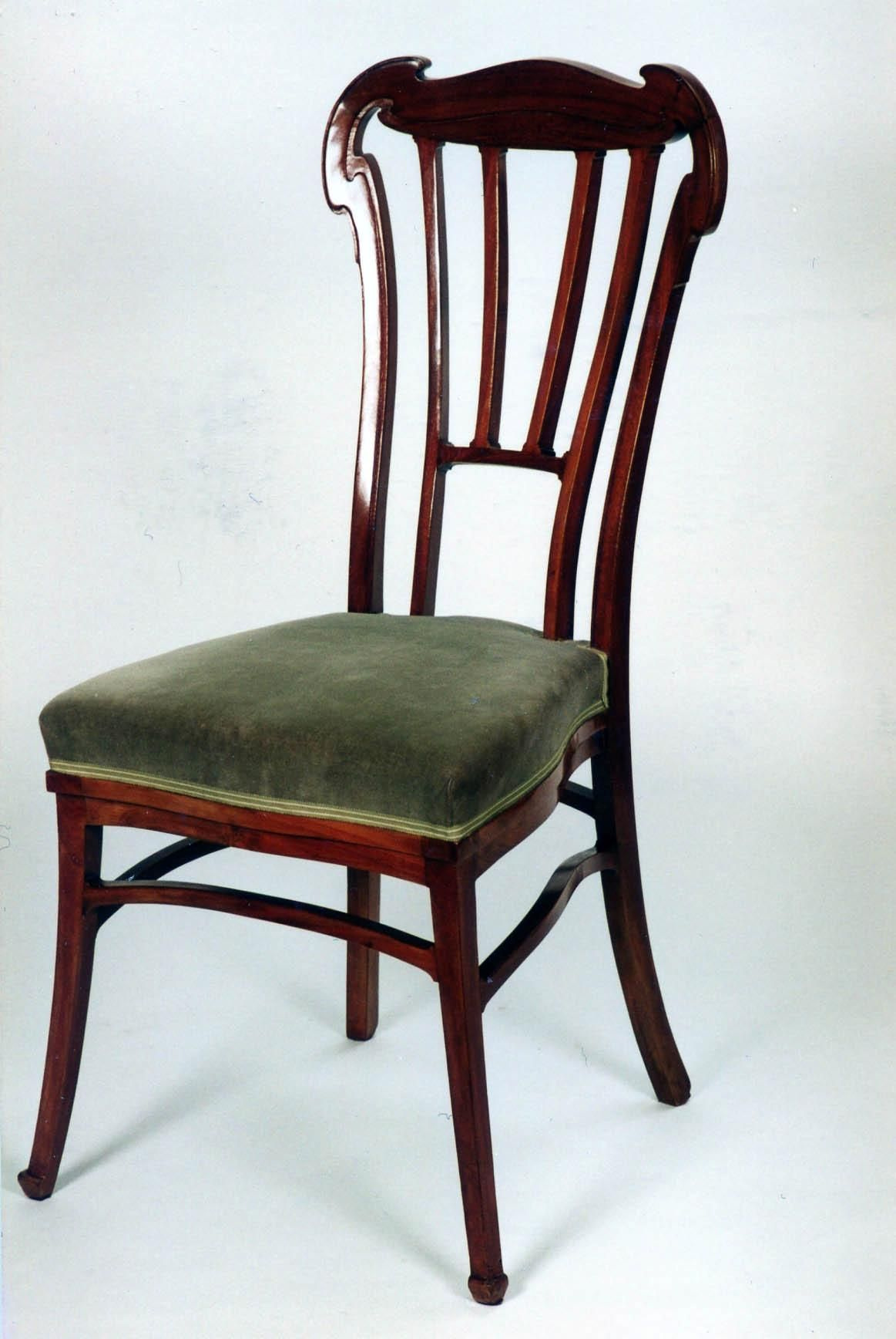 Victor Horta 1861 1947 Side Chair Circa