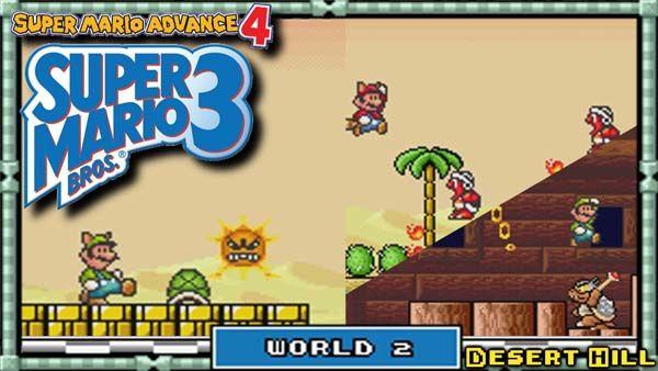 Super Mario Advance 4 Super Mario Bros 3 Gba Rom Usa Https