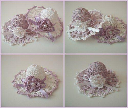top design vari design sporco Stupendi cappellini all'uncinetto con schema…… Cercando tutt'altra ...