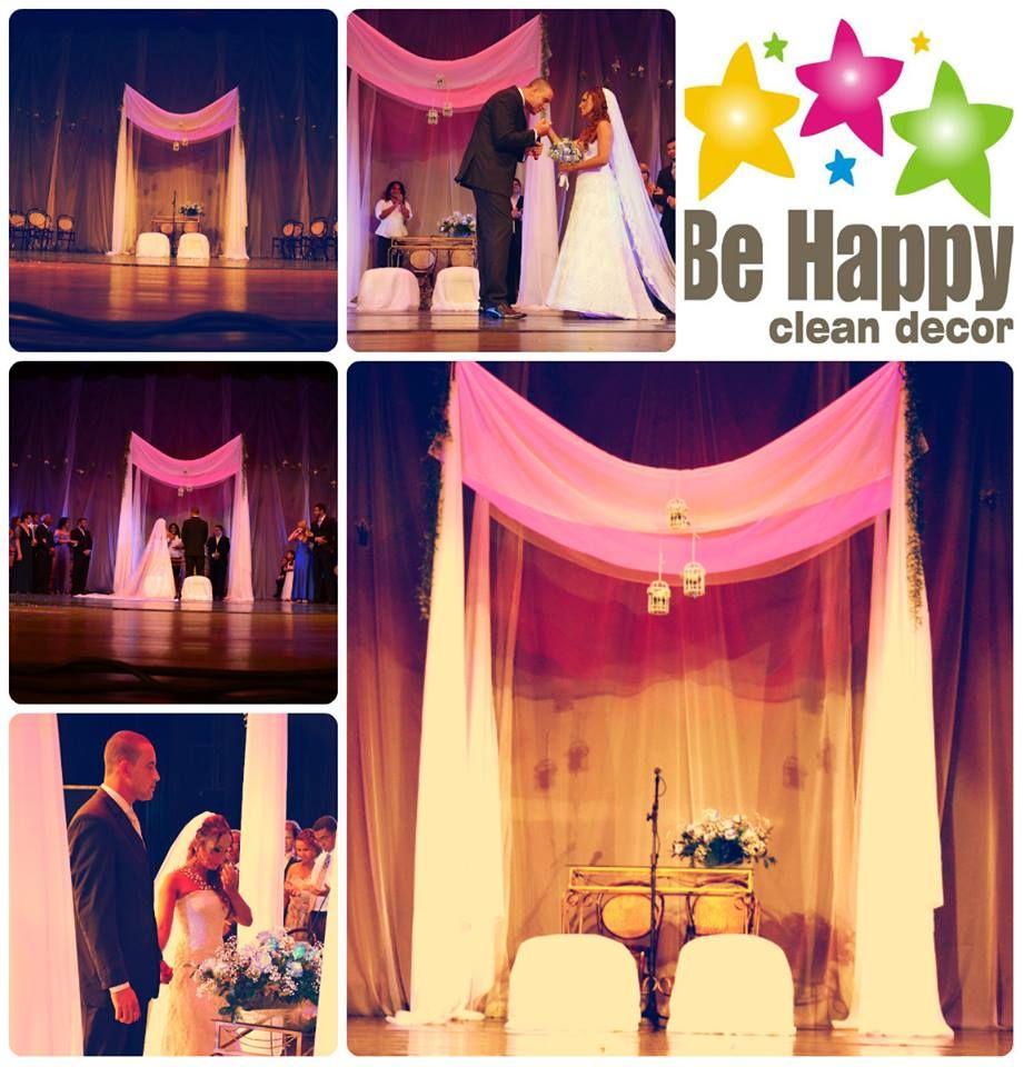 Nós, da Be Happy, criamos o cenário para o ÚNICO casamento de VERDADE até hoje realizado neste lugar lindo e imponente: Teatro Arthur Azevedo.