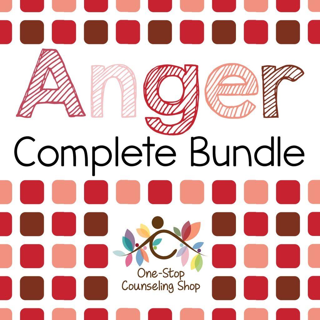 Anger Complete Bundle Grades K 2