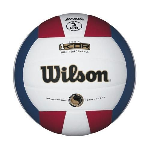 Wilson I Cor High Performance Volleyball Red White Blue Indoor Volleyball Volleyball Volleyballs For Sale