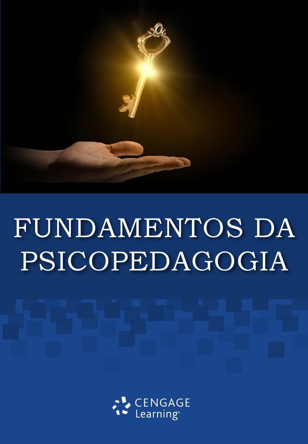 Fundamentos Da Psicopedagogia Psicopedagogia Psicologia Da