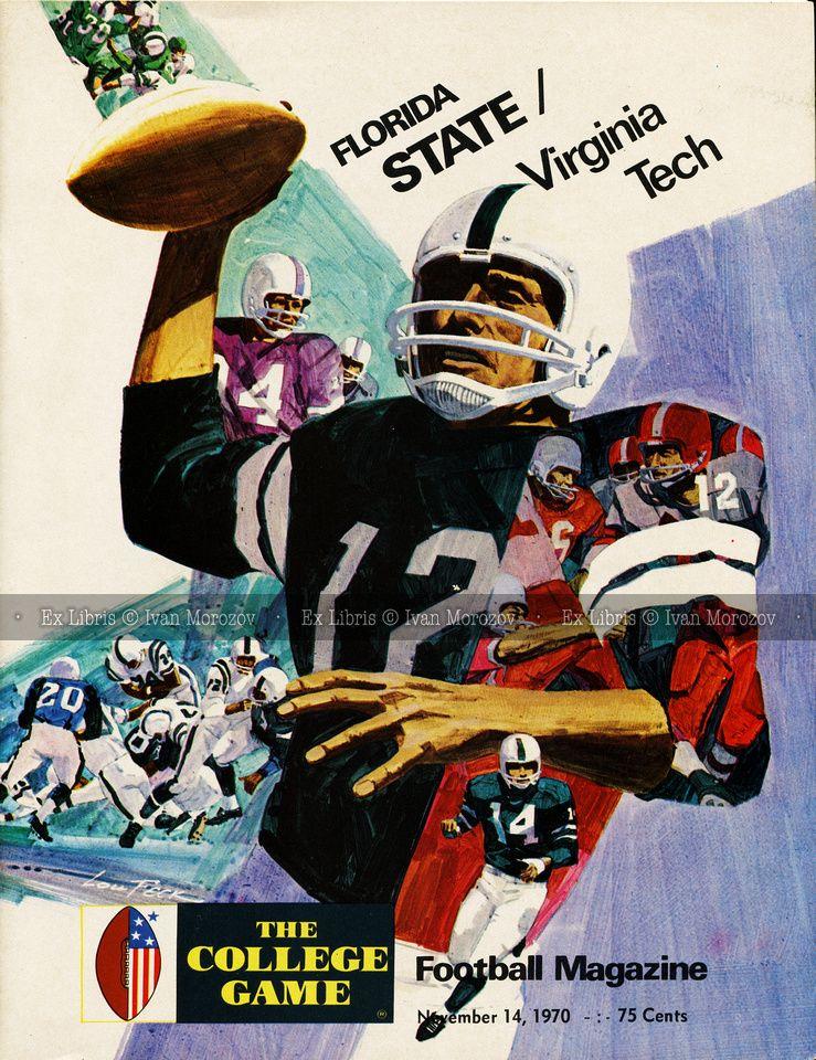 1970.11.14. Virginia Tech (Hokies) at Florida State