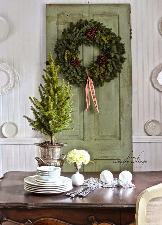 Antic&Chic. Decoración Vintage y Eco Chic: [Lugares con alma] Por una Navidad Country Chic