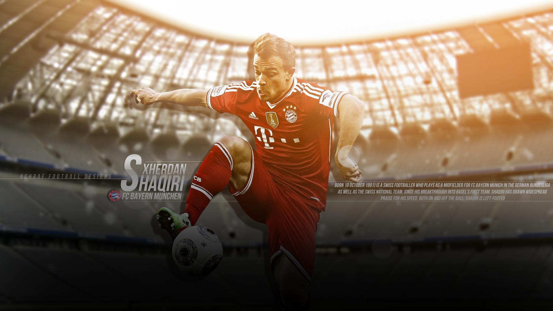 Xherdan Shaqiri Bayern Munich Wallpaper Hd 2014 1 Bayern Munich Wallpapers Bayern Munich Bayern