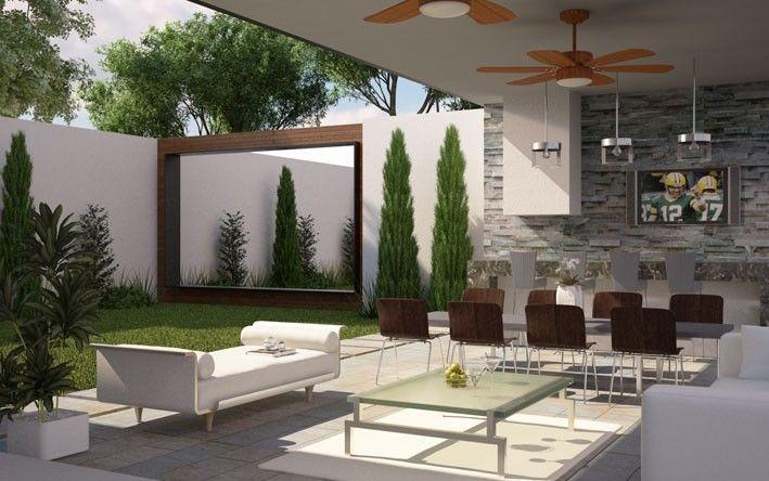 Residencia bosques de chapultepec house pinterest for Estilos de asadores exteriores