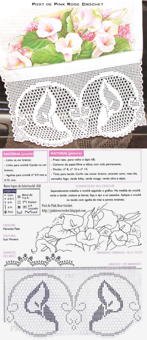 Hermosa Patrones De Ganchillo Blanco Vanna Friso - Ideas de Patrones ...