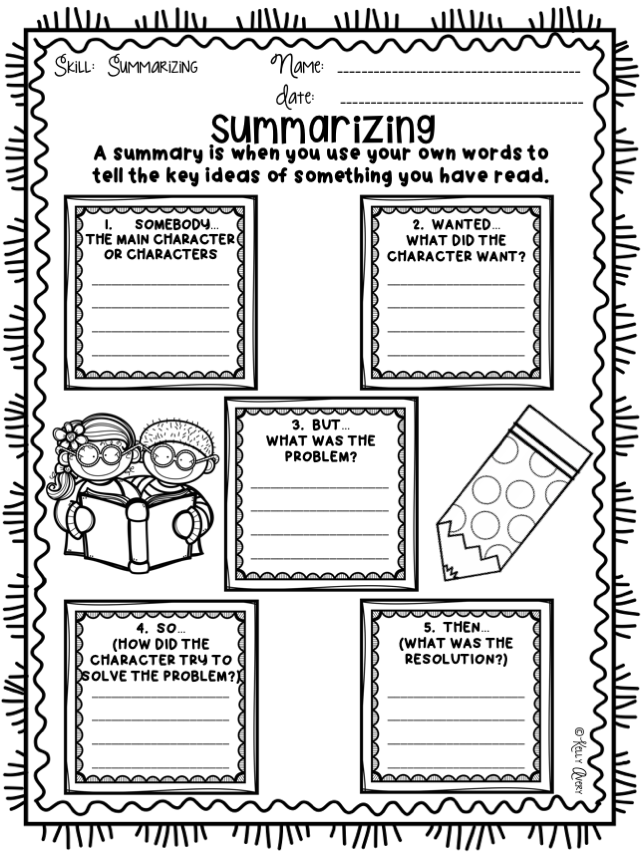 story writing graphic organizer pdf
